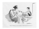 """This is 'N'aimez que moi,' madame—'Don't love nobody but me.' "" - New Yorker Cartoon Premium Giclee Print by Helen E. Hokinson"