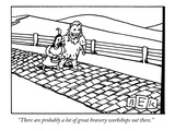"""There are probably a lot of great bravery workshops out there."" - New Yorker Cartoon Premium Giclee Print by Bruce Eric Kaplan"