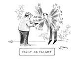 Fight of Flight - Cartoon Regular Giclee Print by Mike Twohy