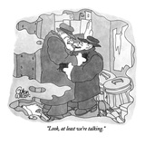 """Look, at least we're talking."" - New Yorker Cartoon Premium Giclee Print by Gahan Wilson"