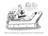 """There are no wrong answers—only perceived threats to national security."" - New Yorker Cartoon Premium Giclee Print by Mike Twohy"