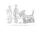"""We think it's a glandular disturbance."" - New Yorker Cartoon Premium Giclee Print by George Price"