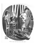 """Well, I guess that breaks up our little game."" - New Yorker Cartoon Premium Giclee Print by Peter Arno"