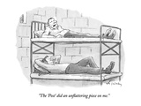 """The 'Post' did an unflattering piece on me."" - New Yorker Cartoon Premium Giclee Print by Mike Twohy"