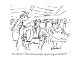 """No Chiclets  When did you people stop passing out Chiclets"" - New Yorker Cartoon Premium Giclee Print by Frank Modell"