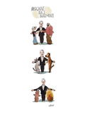 Subsequent Peace Agreements - New Yorker Cartoon Premium Giclee Print by Barry Blitt