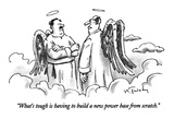 """What's tough is having to build a new power base from scratch."" - New Yorker Cartoon Premium Giclee Print by Mike Twohy"