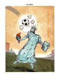 HEADER. - New Yorker Cartoon Premium Giclee Print by Barry Blitt