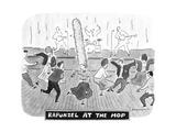 Rapunzel At the Hop - New Yorker Cartoon Premium Giclee Print by Danny Shanahan