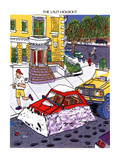 The Last Holdout - New Yorker Cartoon Premium Giclee Print by Gary Panter