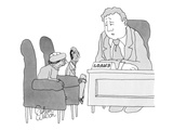 """Sorry, Mom. Sorry, Pop."" - New Yorker Cartoon Premium Giclee Print by Gahan Wilson"