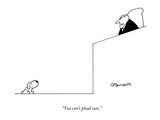"""You can't plead cute."" - New Yorker Cartoon Premium Giclee Print by Charles Barsotti"
