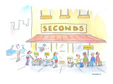 Second Hand Store. - Cartoon Premium Giclee Print by Liza Donnelly