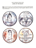 Coins of the Realm - New Yorker Cartoon Premium Giclee Print by Ronald Searle