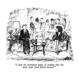 """I find the defendant guilty of stealing that shy little smile from Kevin …"" - New Yorker Cartoon Giclee Print by Robert Weber"