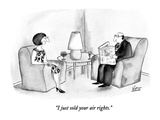 """I just sold your air rights."" - New Yorker Cartoon Premium Giclee Print by Victoria Roberts"