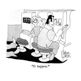 """It happens."" - New Yorker Cartoon Premium Giclee Print by Gahan Wilson"