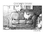 Chicken Divan - New Yorker Cartoon Premium Giclee Print by Ann McCarthy