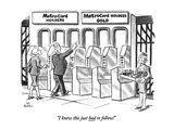 """I knew this just had to follow!"" - New Yorker Cartoon Premium Giclee Print by Ed Fisher"
