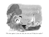 """I've been against it from the start, but who am I  Only her mother."" - New Yorker Cartoon Premium Giclee Print by Edward Frascino"