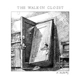 The Walk-in Closet - New Yorker Cartoon Premium Giclee Print by Ann McCarthy