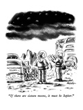 """If there are sixteen moons, it must be Jupiter."" - New Yorker Cartoon Premium Giclee Print by Ed Fisher"