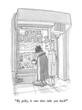 """By golly, it sure does take you back!"" - New Yorker Cartoon Premium Giclee Print by Gahan Wilson"