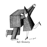 Safe Geometry - New Yorker Cartoon Premium Giclee Print by Mimi Gnolì