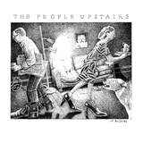 The People Upstairs - New Yorker Cartoon Premium Giclee Print by Ann McCarthy