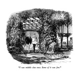 """""""I was middle class once.  Some of it was fun."""" - New Yorker Cartoon Giclee Print by Robert Weber"""