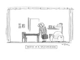 Death of a Salesperson - New Yorker Cartoon Premium Giclee Print by Mike Twohy