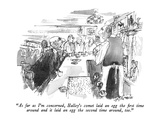 """As far as I'm concerned, Halley's comet laid an egg the first time around…"" - New Yorker Cartoon Premium Giclee Print by Joseph Mirachi"