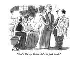 """That's Harvey Beston.  He's in junk bonds."" - New Yorker Cartoon Premium Giclee Print by Frank Modell"