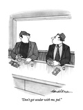 """Don't get secular with me, pal."" - New Yorker Cartoon Premium Giclee Print by J.B. Handelsman"