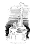 """Which side of the butte do you want"" - New Yorker Cartoon Premium Giclee Print by George Booth"