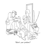 """Here's your problem."" - New Yorker Cartoon Premium Giclee Print by Gahan Wilson"
