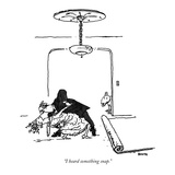 """I heard something snap."" - New Yorker Cartoon Premium Giclee Print by George Booth"