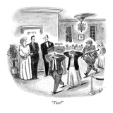 """Two"" - New Yorker Cartoon Regular Giclee Print by Frank Cotham"