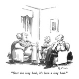 """Over the long haul, it's been a long haul."" - New Yorker Cartoon Premium Giclee Print by Eldon Dedini"