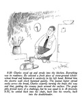 Man making sandwich. - New Yorker Cartoon Premium Giclee Print by W.B. Park