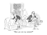 """Have you seen my castanets"" - New Yorker Cartoon Premium Giclee Print by Edward Frascino"