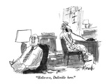 """Hello-o-o, Dullsville here."" - New Yorker Cartoon Premium Giclee Print by Joseph Mirachi"