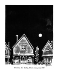 Moonrise, East Dudley, Rhode Island, July 1988 - New Yorker Cartoon Premium Giclee Print by Eldon Dedini
