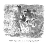 """Didn't I just usher in an era of good feeling"" - New Yorker Cartoon Regular Giclee Print by James Stevenson"
