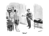 """Mint!"" - New Yorker Cartoon Premium Giclee Print by James Stevenson"