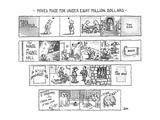 Movies Made For Under Eight Million Dollars - New Yorker Cartoon Premium Giclee Print by John Jonik