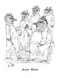Arcane Ritual - New Yorker Cartoon Premium Giclee Print by William Steig