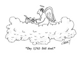 """Day 3,762: Still dead."" - New Yorker Cartoon Premium Giclee Print by Tom Cheney"