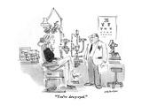 """You're dewy-eyed."" - New Yorker Cartoon Premium Giclee Print by James Stevenson"