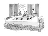 Executives of Fortune - New Yorker Cartoon Giclee Print by Jack Ziegler